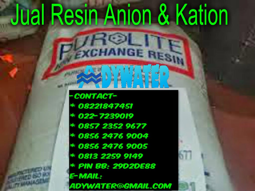 Jual Resin Purolite - Ady Water Jual Resin Murah