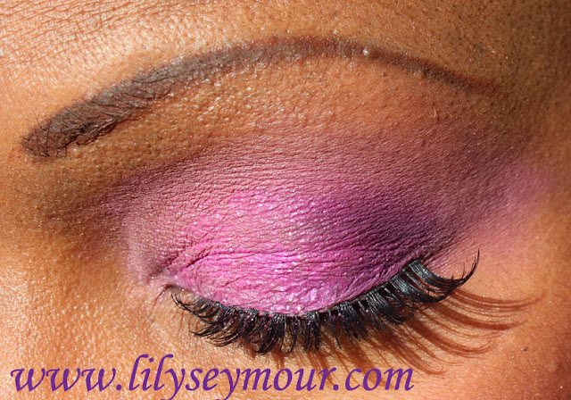 Pinks and Purples Using bh Cosmetics