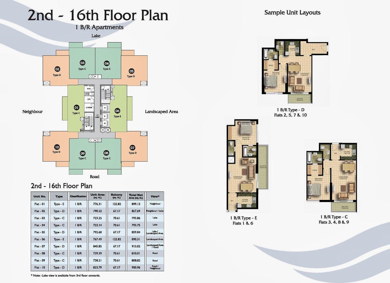 Fairview residence business bay dubai floor plan for Dubai house floor plans