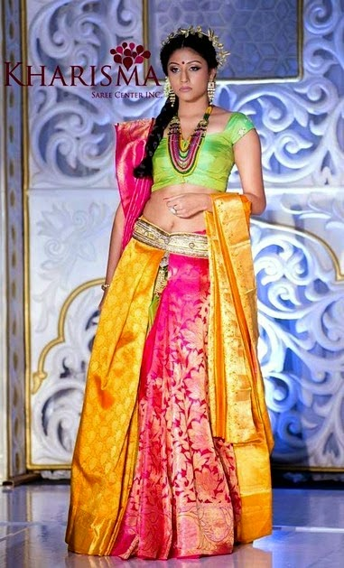 Kharisma Saree Center Sarees Fashion 2014 from India