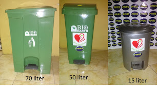 Tong Sampah Plastik  Injak