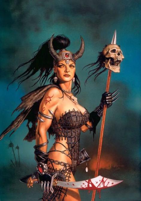 Mujer Guerrera De Dios Con Espada