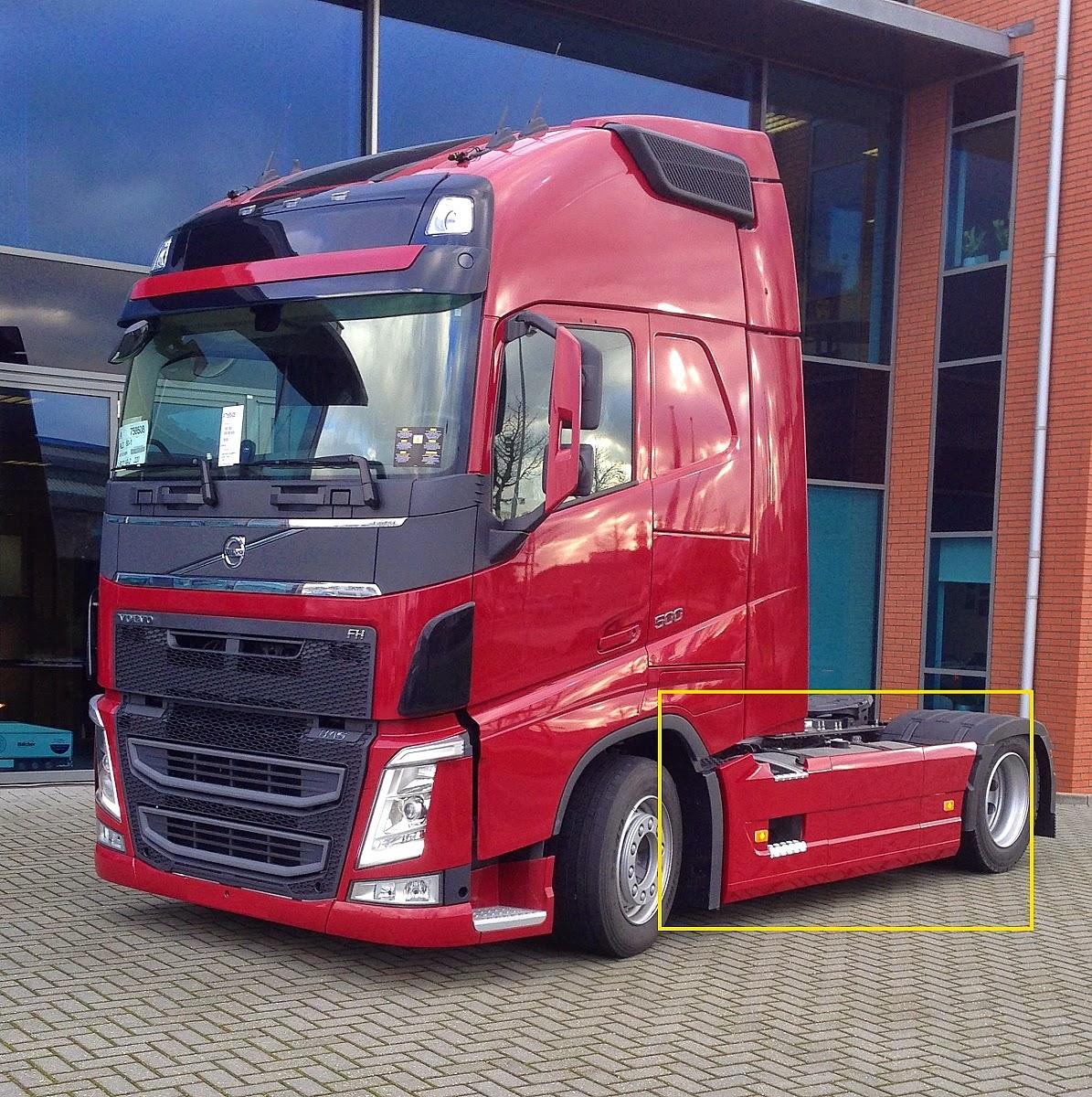 dieciocho ruedas  se imponen en europa los camiones low deck  rebajados