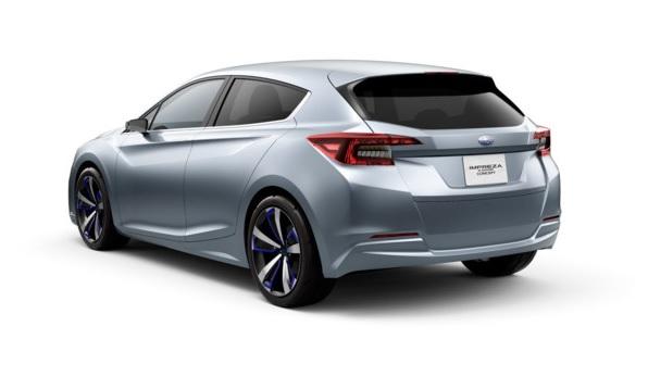 Subaru Impreza 5 puertas Concept