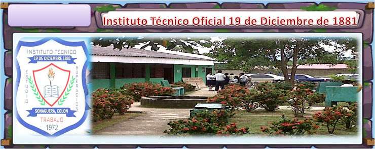 INSTITUTO TECNICO 19 DE DICIEMBRE DE 1881, SONAGUERA, COLON ESTUDIANTES DEL INSTITUTO