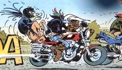 Rallye de la police aux bras nus dans l'Aube - Moto
