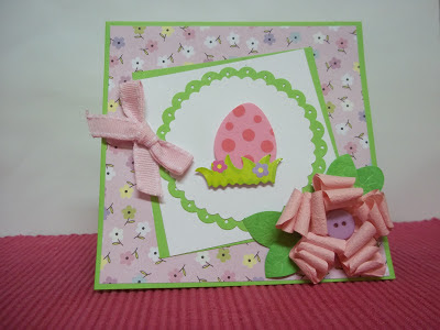 Easter Egg Themed Card