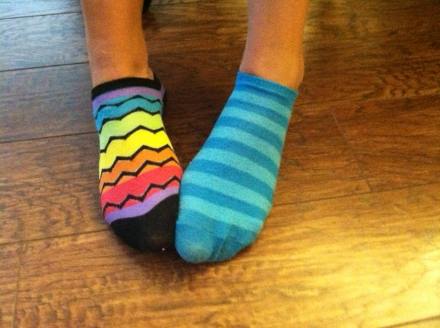 Mismatched socks quotes