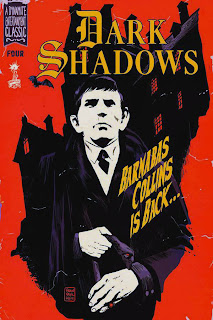 Cover of Dark Shadows #4 by Francesco Francavilla from Dynamite Entertainment