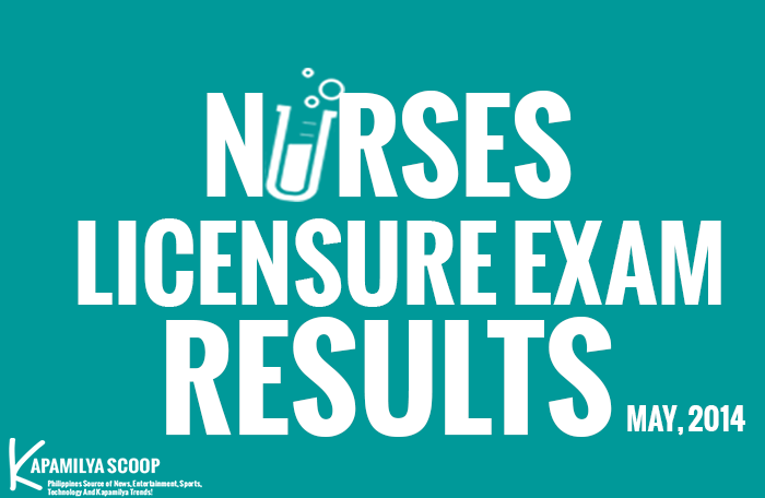 The Nurses Licensure Exam (NLE) Results May 2014 (Alphabetical Order)
