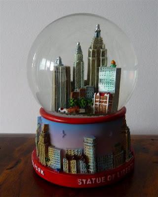 0058 Palle di neve - Boule à neige - Snow globe (New York - U.S.A.)