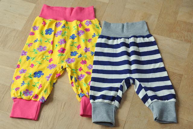 Hjemmesyet børnetøj bukser