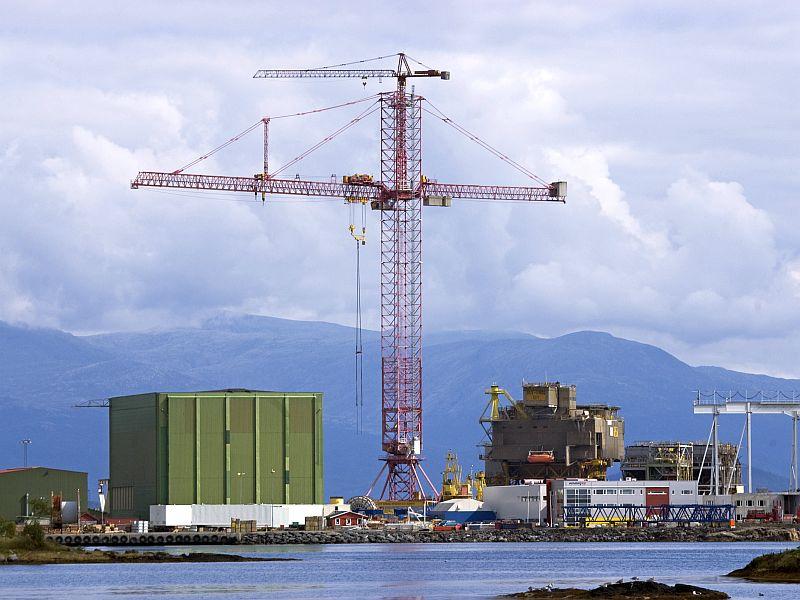 Grua torre mas grande del mundo