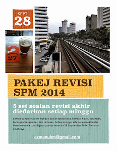 PAKEJ REVISI SPM 2014