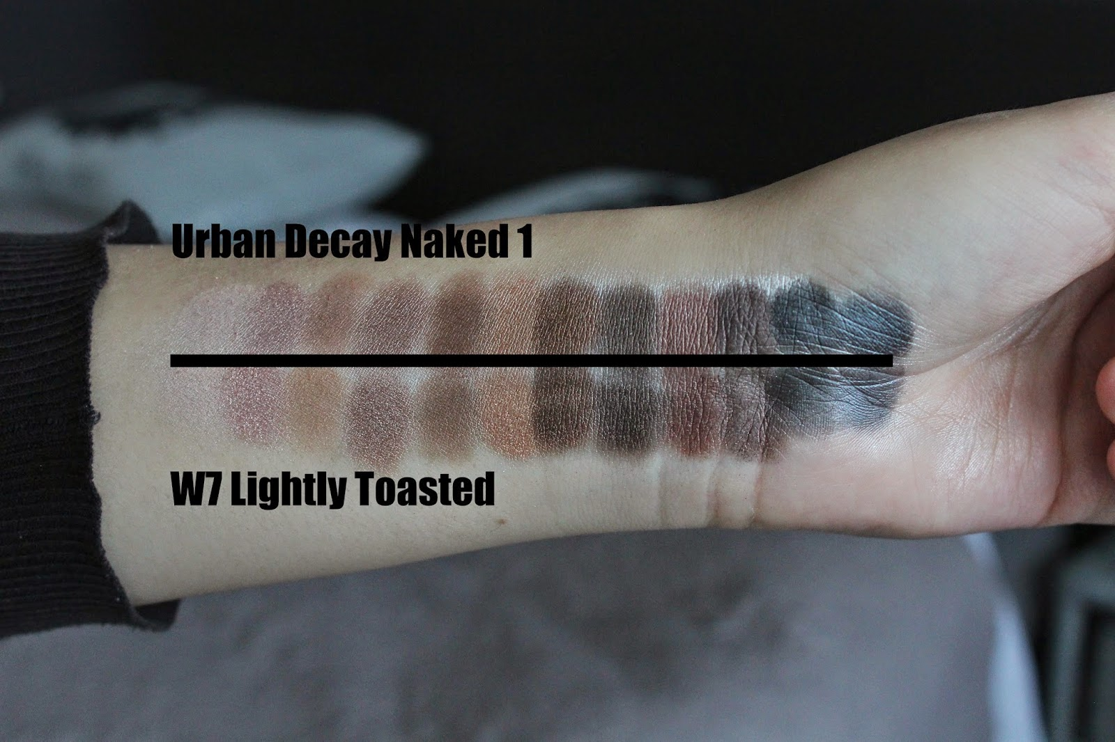W7 Swatches | Budget-Friendly Urban Decay Eyeshadow Dupes You Should Try