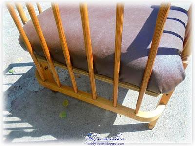 как смастерить кресло для сада