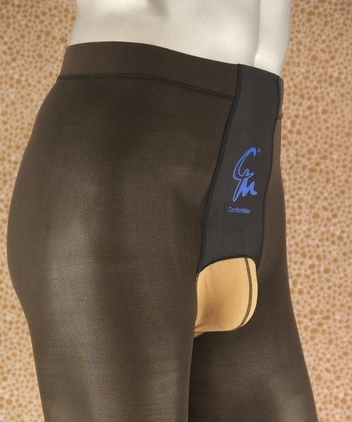 Pantyhose with full back panel