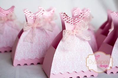 festa de princesa, personalizados de princesa, caixinha personalizada, caixinha de vestido