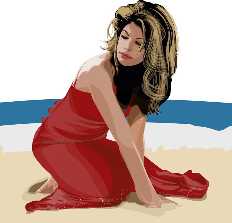Eva Mendes Cartoon