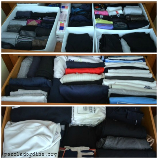 paroladordine-siorganizza-armadio-cassetti