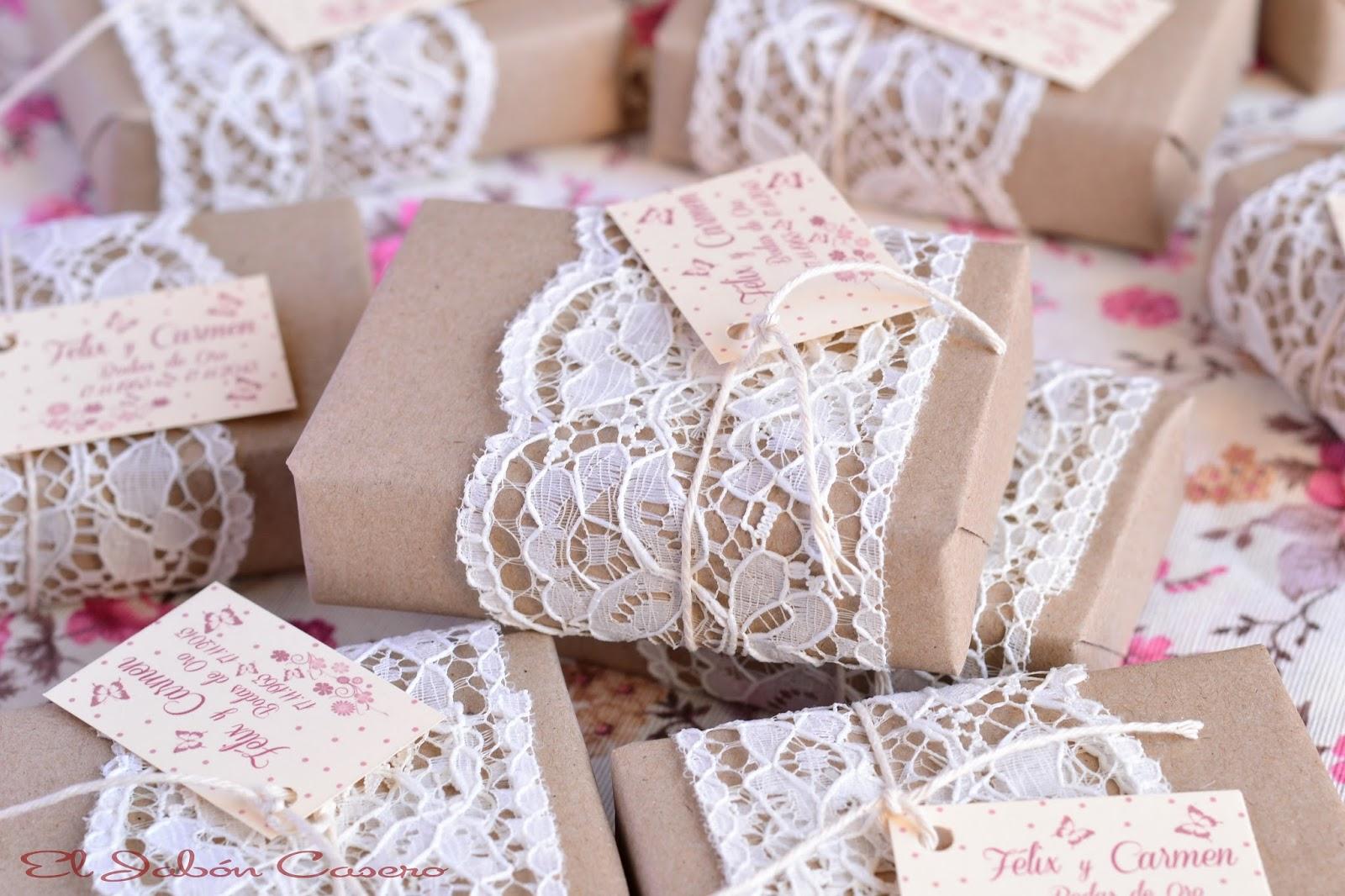 Detalles bodas de oro jabones artesanales