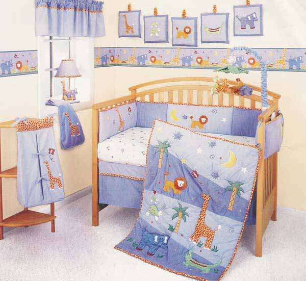 Modern Home Interior Design: Baby bedding