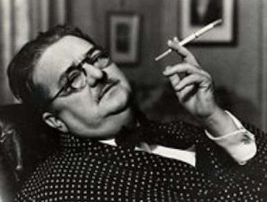 "Alexander Humphreys Woollcott, que inspiró a Waldo Lydecker, el maravilloso personaje de ""Laura""."