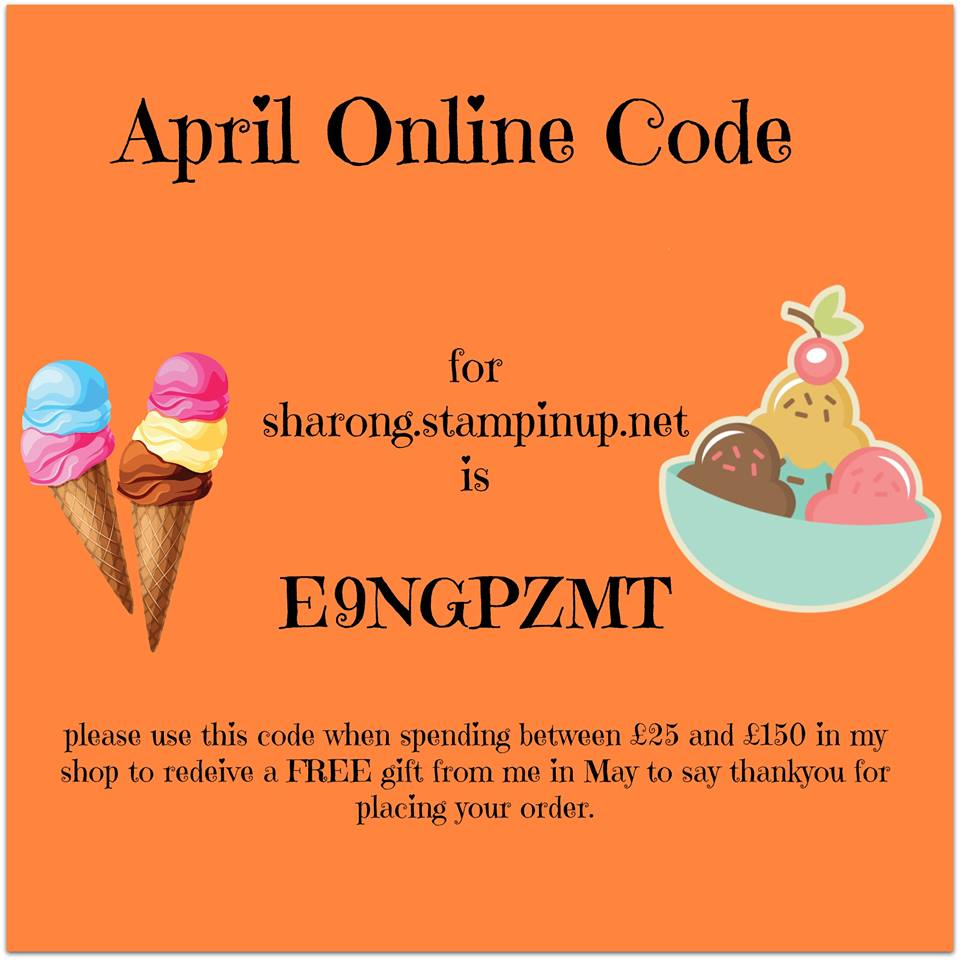 April Online Code
