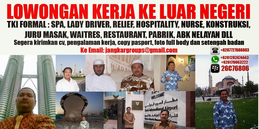 Image Result For Lowongan Kerja Luar Negeri