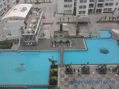 Bể bơi căn hộ New Sài Gòn