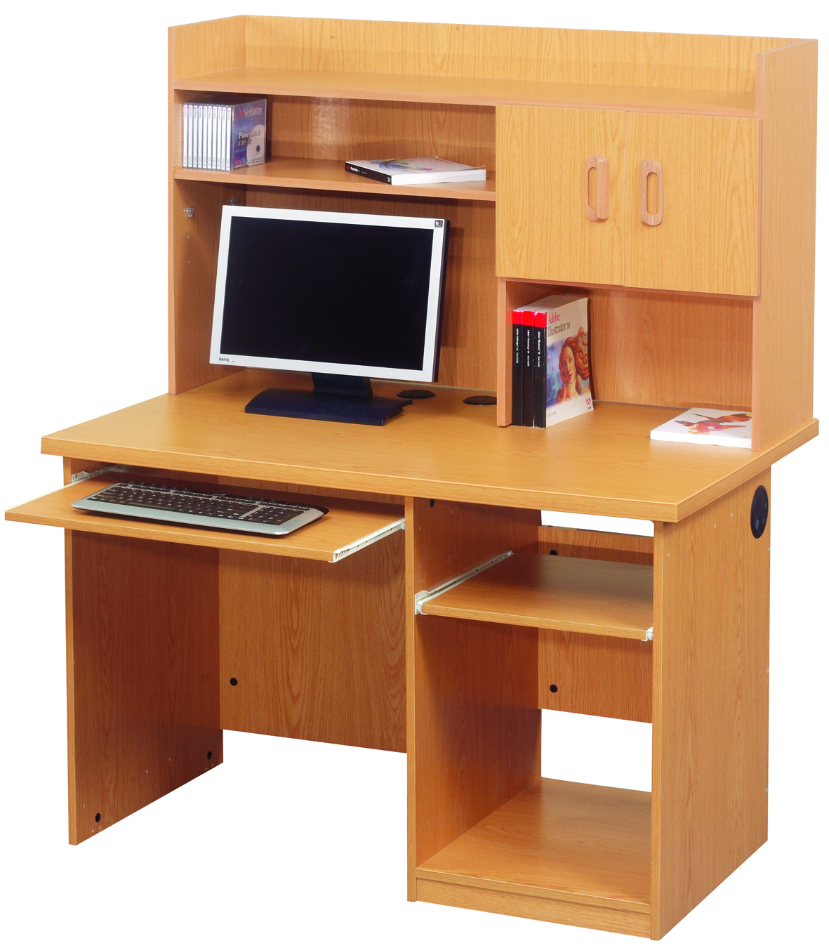 Meuble bureau ordinateur bureau pour ordinateur table for Meuble demeyere conforama