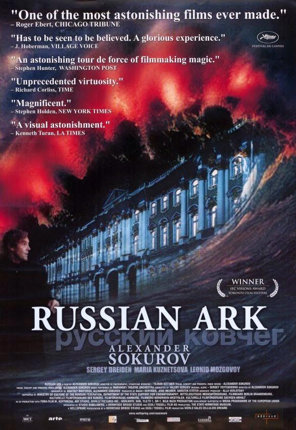 Russian Ark 2002 film Alexander Sokurov poster