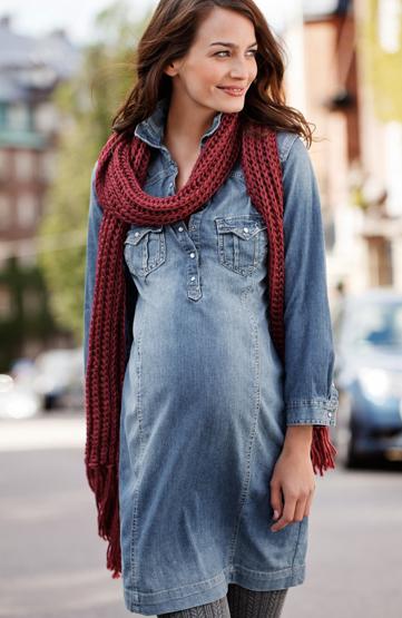 vestidos premama H&M 2011 2012