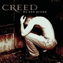 Creed 1997 album My Own Prison cover grunge rock music 1990s