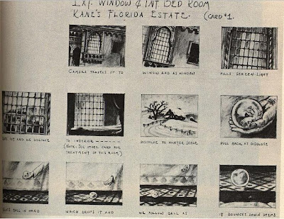 Storyboard- Citizen Kane - Rosebud