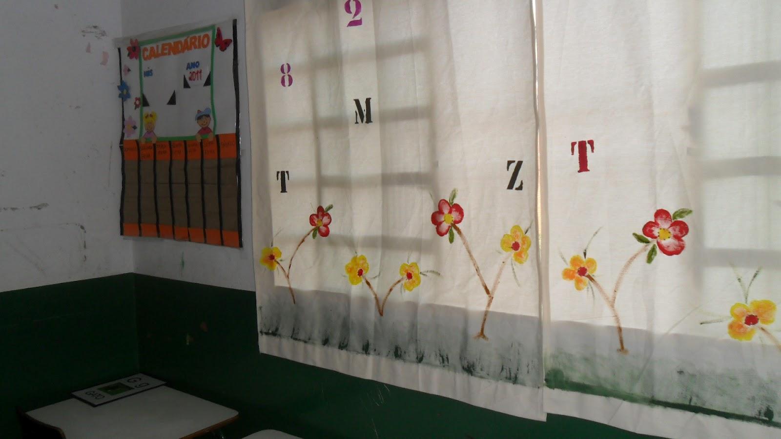 Escola municipal doce saber fevereiro 2012 for Cortinas para aulas