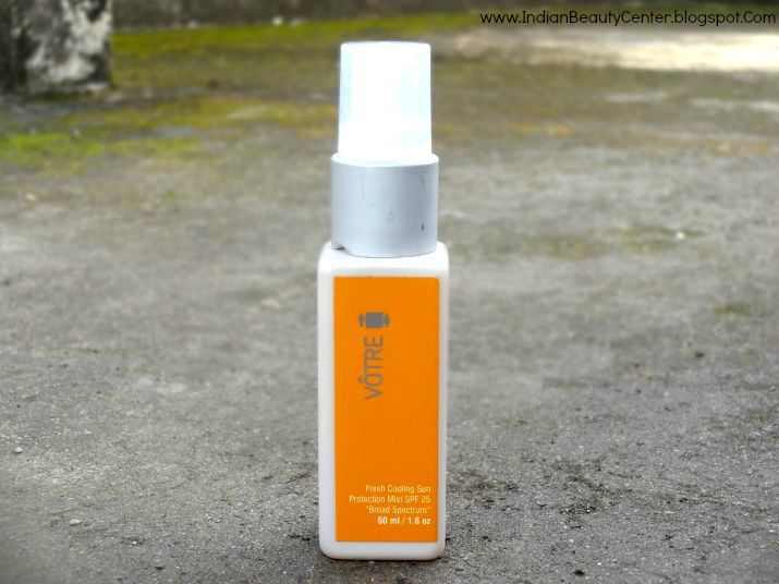 Votre Fresh Cooling Sun Protection Mist Review