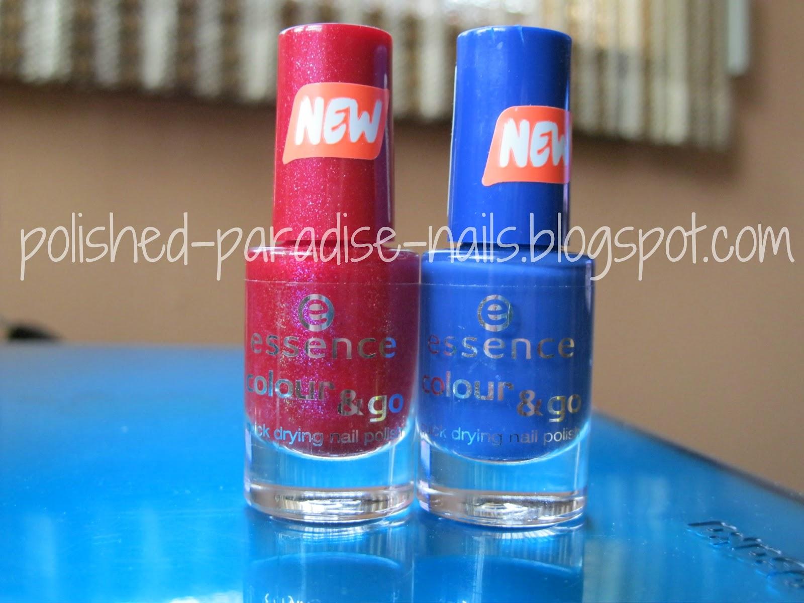Polished Paradise: Essence Cosmetics Colour & Go Nail Polish