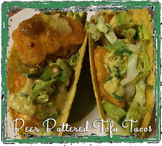 Beer Battered Tofu Tacos