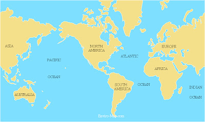 all of 7 oceans names in english
