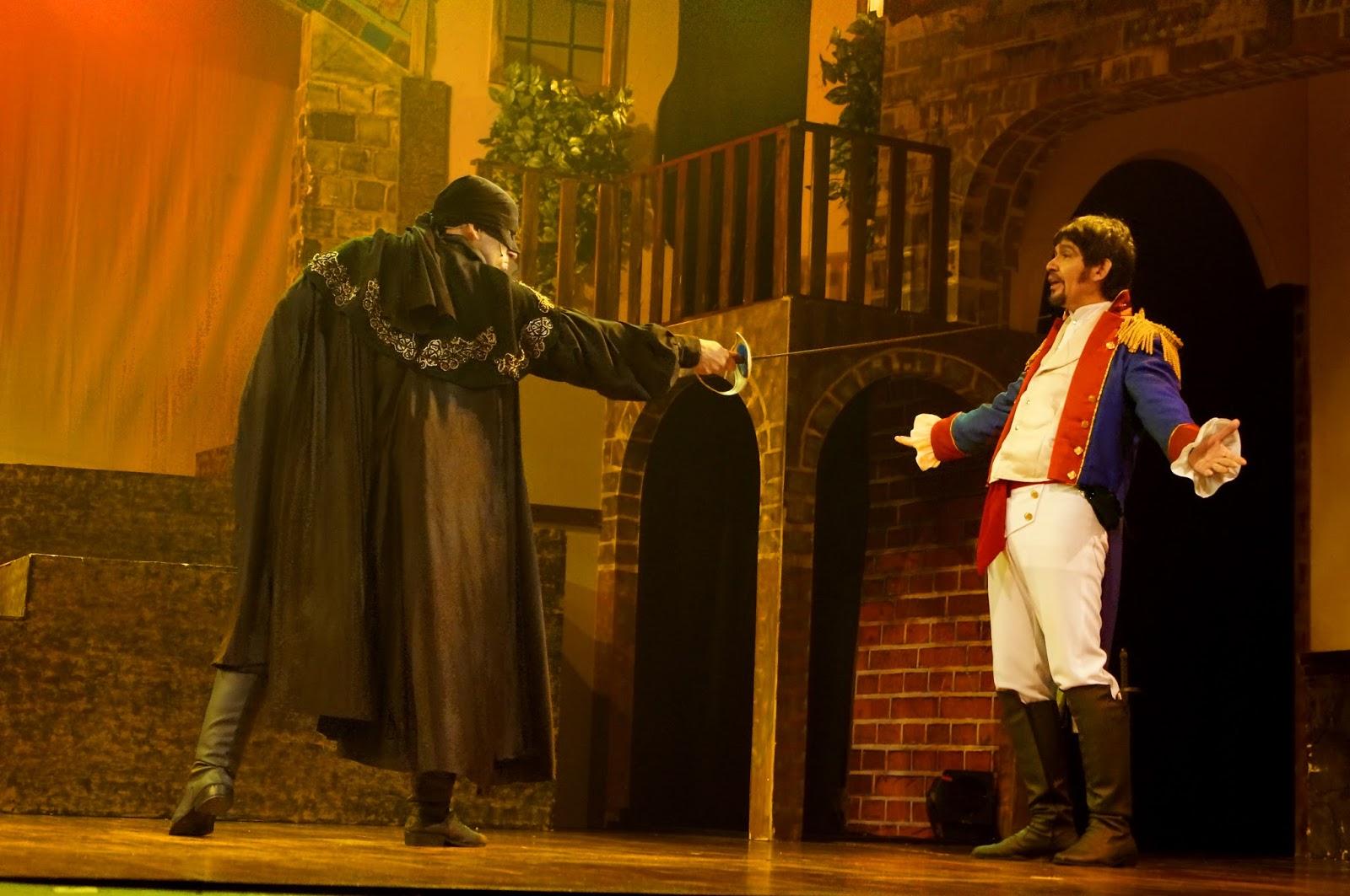 El Zorro Musical, Panama Eventos, Teatro en Circulo Panama, El Zorro Panama