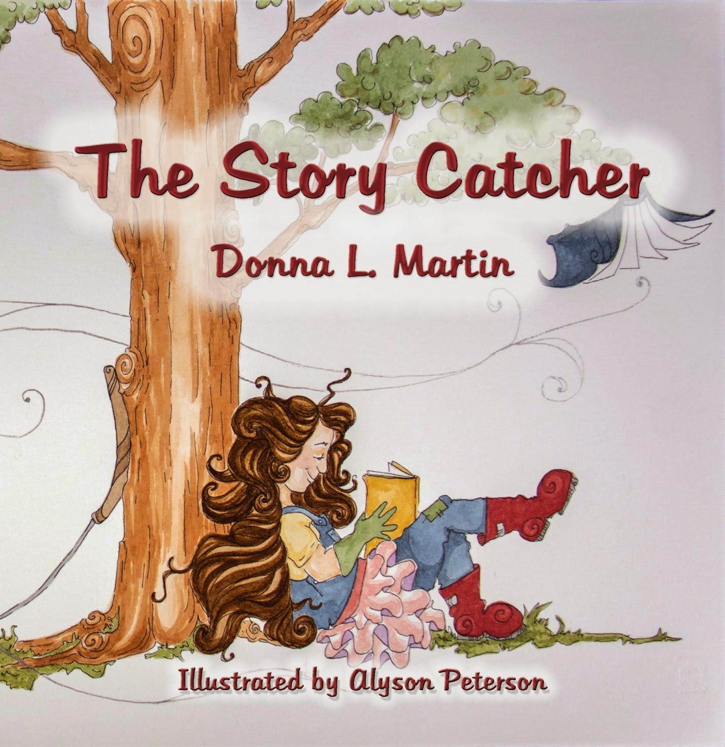 Donna L Martins THE STORY CATCHER: Dont Be Shy
