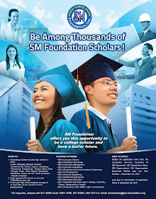 Be an SM Foundation Scholar