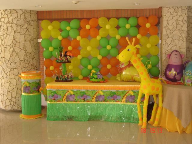 Decoración safari para baby shower - Imagui