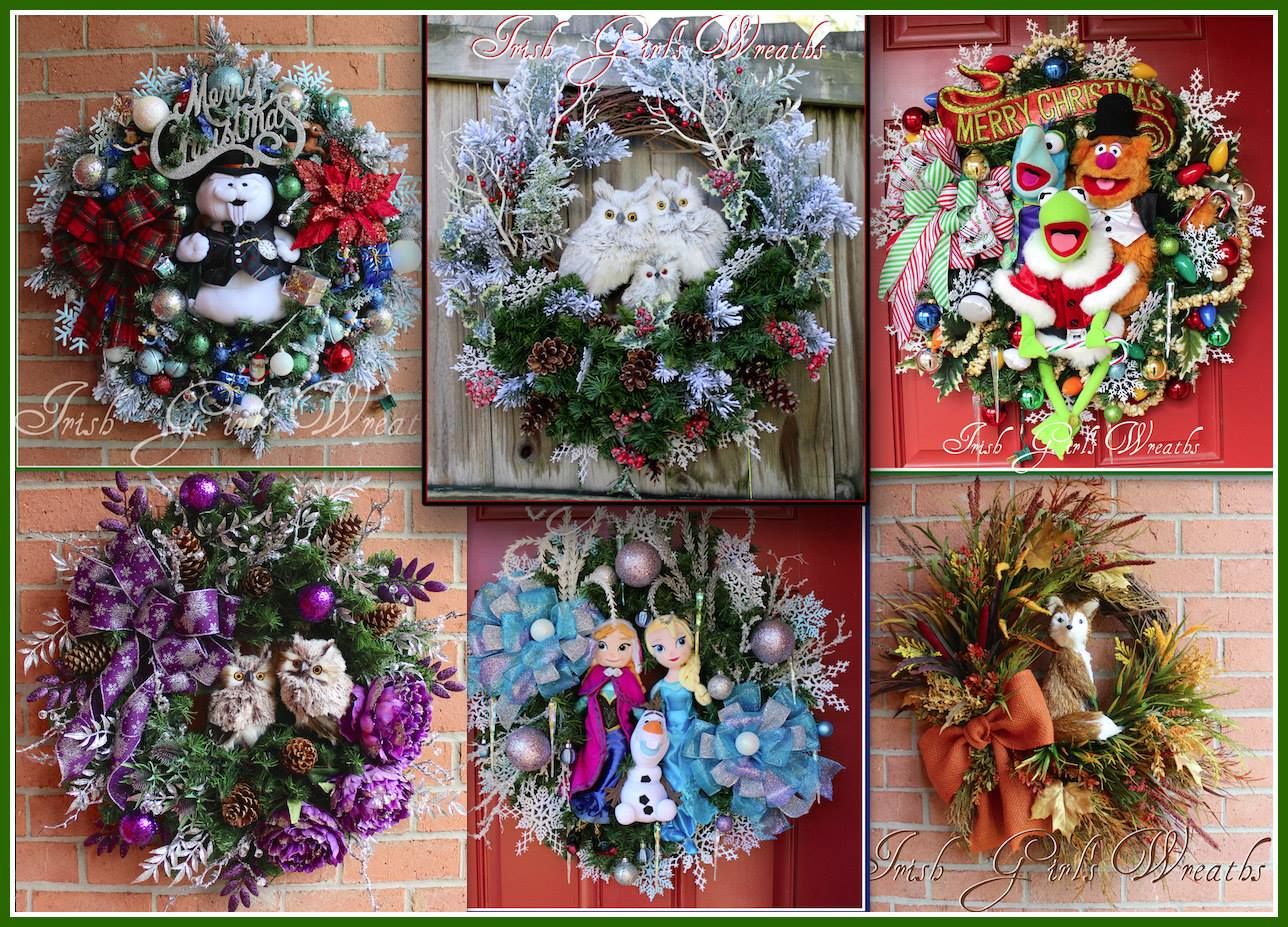 Irish Girl's Wreaths