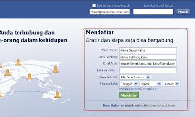 Cara mendaftar facebook baru dengan mudah, Cara, mendaftar, facebook, baru, dengan, mudah