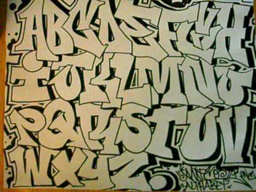 Graffiti news graffiti alphabet letters - Graffiti alfabet ...