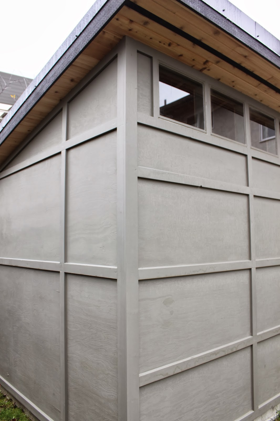 dirt digging sisters diy modern shed finally complete