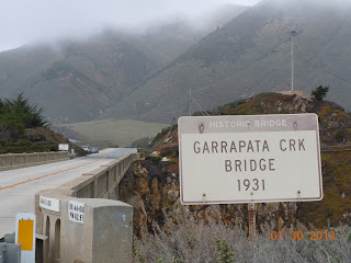 big sur garrapata creek bridge
