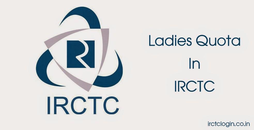 Ladies Quota In IRCTC
